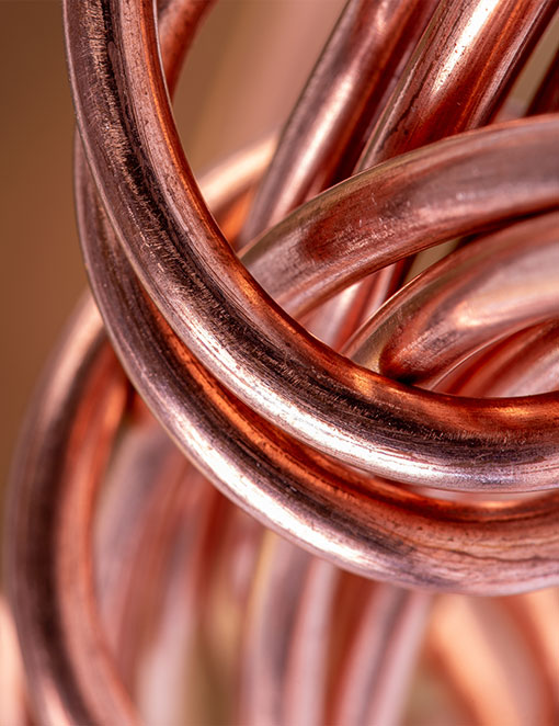 Copper-raw-industry-stock-photo